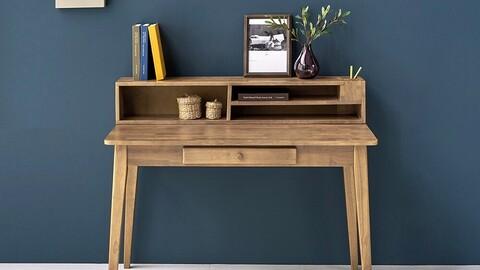 Odun Wood Desk 1200