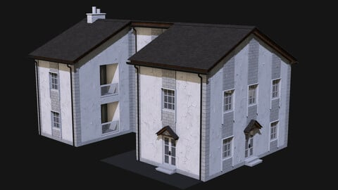 Low Poly House Builder HDA