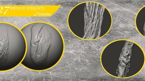 Z brush - Trunk Detail Brushes 4 Volume