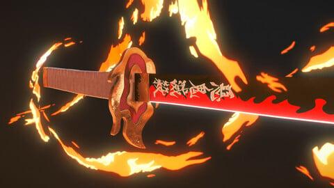 Demon Slayer - Rengoku kyôjurô's Katana