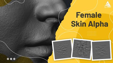 Female Face Skin Alphas