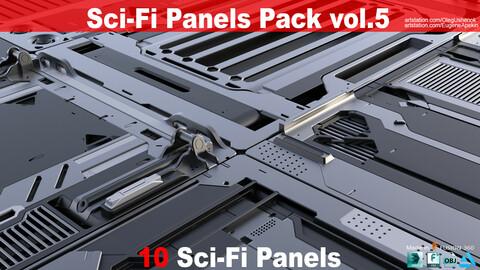 Sci-Fi Panels Pack vol 05