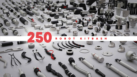 250 Robot Kitbash