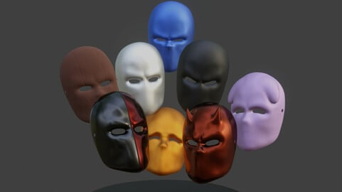 Mask Collection - All The Masks You Need