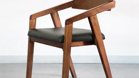 Mahogany Maho Interior Wood Dining Chair