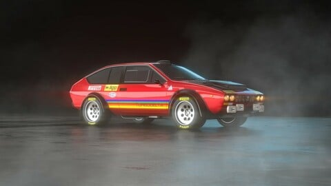 Alfa Romeo Alfetta GTV Turbodelta car