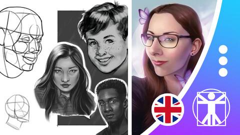 MASTERCLASS: Digital Portrait Drawing