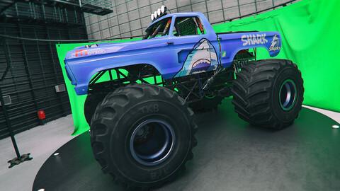 Monster Truck Textures Set