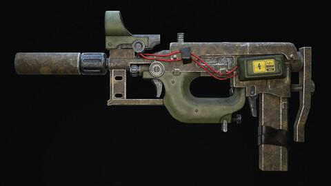 Nyx Rifle Scifi Game Ready