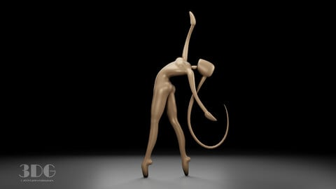 Delicate Ballerina