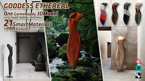 Goddess Ethereal Sculpture