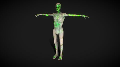 Cyberpunk Jonkie Synth - 新しい現実 ( Rigged )