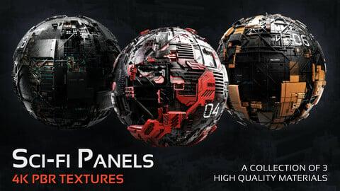 Sci-fi Panels - FREE 4K Texture Pack