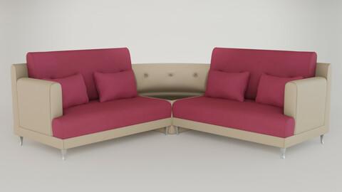 Corner Sofa Set - PBR