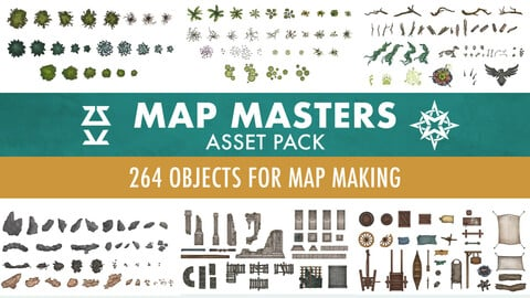 Map Masters Asset Pack