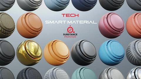 50 tech smart material  (2 variation)