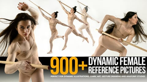 900+ Dynamic Female Reference Pictures