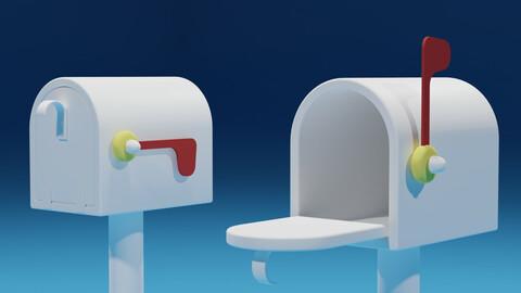 Lovely Cartoon Mailbox