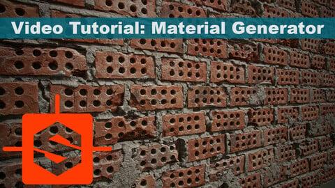 Video Tutorial: Material generator