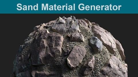 Sand Material Generator