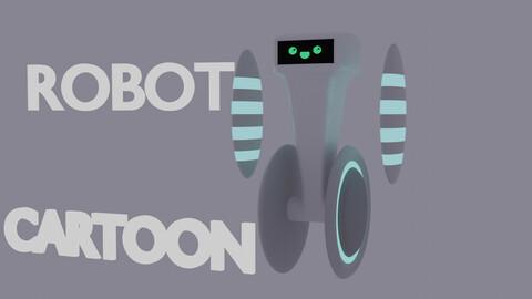 CARTOON ROBOT ESTILIZED