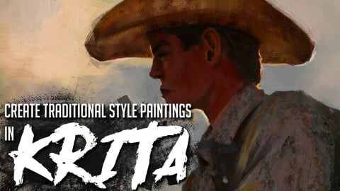 Create Traditional Style Paintings in Krita