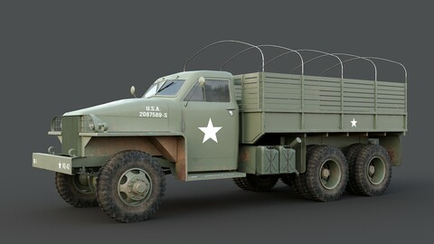 Studebaker US6 military truck us army