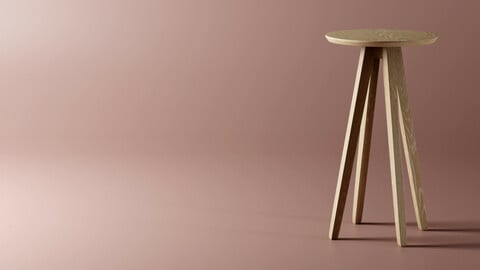 High Table - CENA By Zeitraum - Replica 3D model