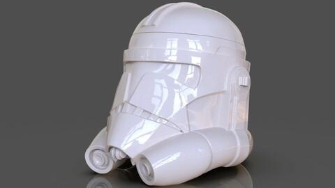 Clone Trooper Helmet Vase