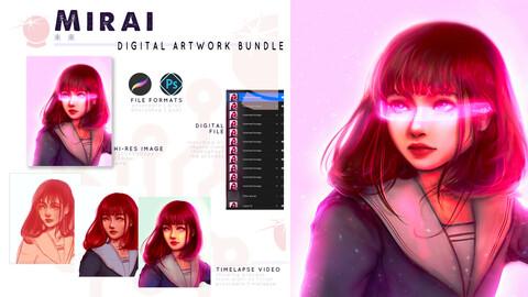 Mirai Digital Artwork Bundle