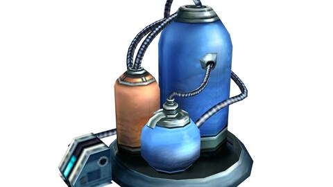 Machine-chemical reaction bottle 01