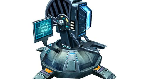 Robot-operating platform 01