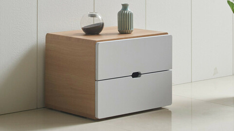 Rio 400 2-tier chest of drawers 7colors