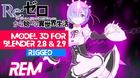 Rem - Re Zero anime