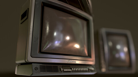 Retro Television from 80s