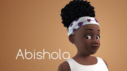 Abishola stylised female character