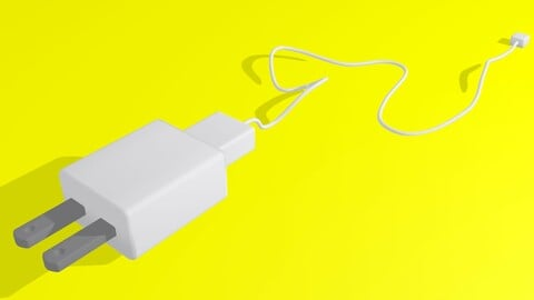 Charger Cell Phone 3D
