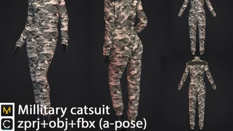 Millitary catsuit