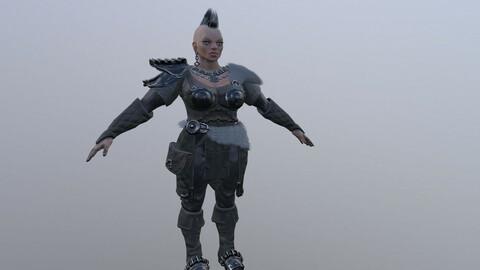 Dwarf Woman warrior