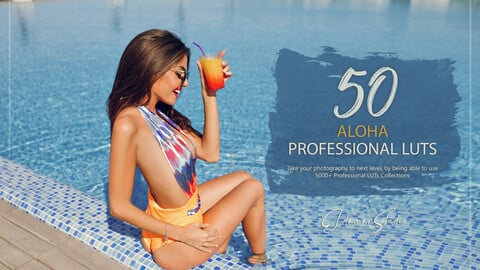 50 Aloha LUTs and Presets Pack