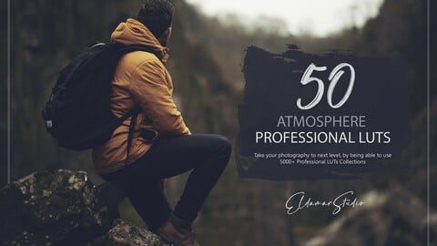 50 Atmosphere LUTs and Presets Pack