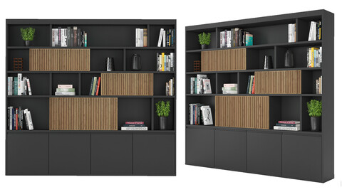 Rack and Bookcase 05