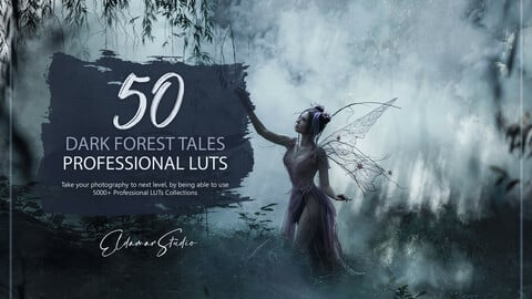 50 Dark Forest Tales LUTs and Presets Pack