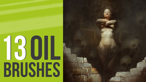 Oil Brushes for Photoshop