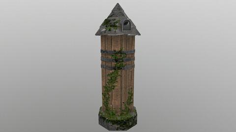Grain Warehouse 3D Model