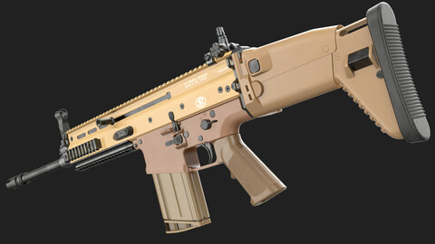 FN SCAR-H 17S (Game Ready)