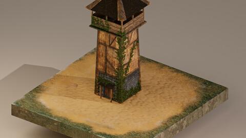 Archer Tower Level 1 3D Model