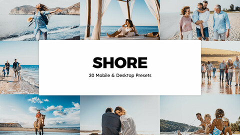 20 Shore LUTs and Lightroom Presets