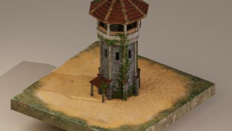 Archer Tower Level 10 3D Model