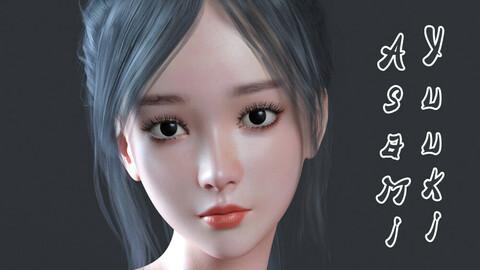Yuuki Asami For Genesis 8.1 Female